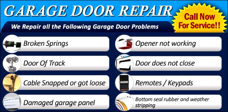 Residential Garage Door Services For Jacksonville Fl