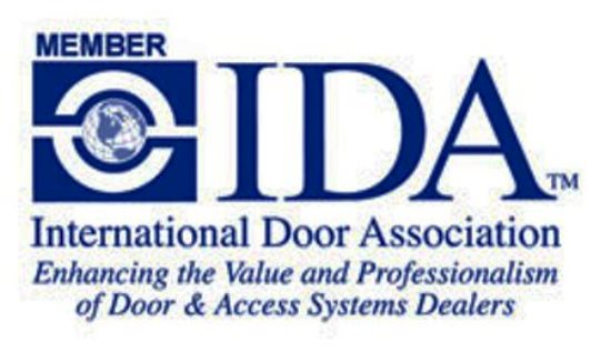 The International Door Association logo